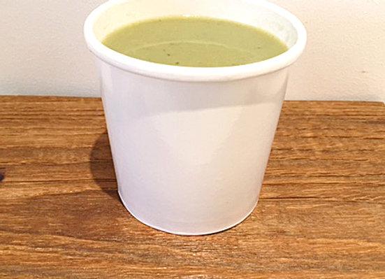 Soupe Vichyssoise, pomme de terre, poireaux et céleri