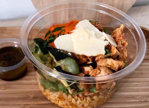 Salade Risoni poulet