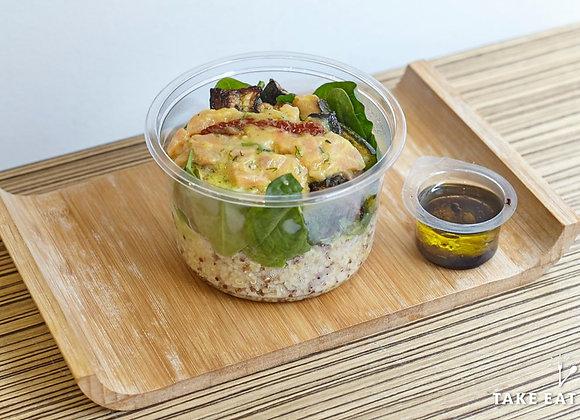 Salade saumon gravlax