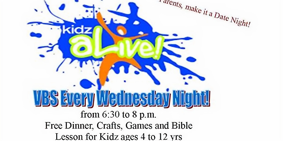 KIDZ ALIVE!!!  Family BBQ/Bike Giveaway (for a girl and a boy) at 6 p.m. (1)