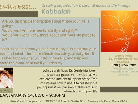 CLASS - Intro to Kabbalah