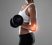 elbow pain, extremeties, mobilty, strength, rehab, Physical Therapy, muscle tone, weights, Pier View Dr. Genie, Dr. Jess