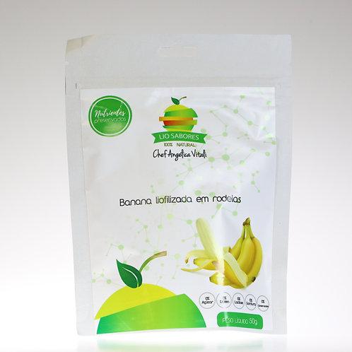 Banana Liofilizada - 50g