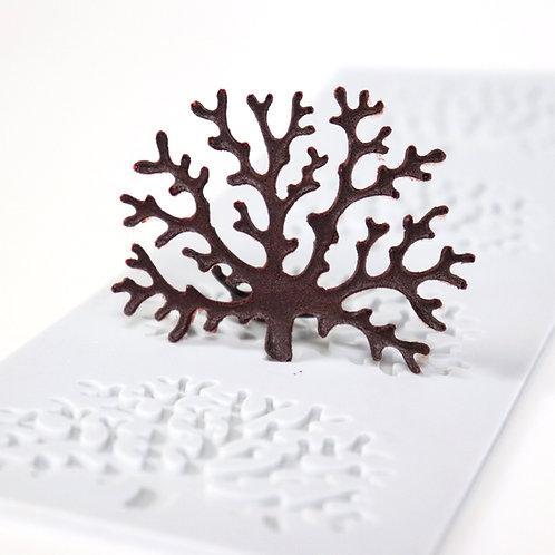 Molde Silicone 3D - Coral