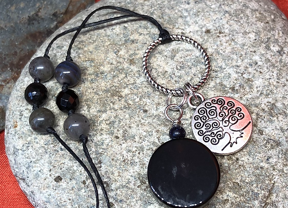 Priestess of Transitions Cluster Pendant
