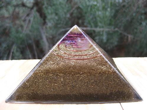 Small Amethyst Orgonite Pyramid