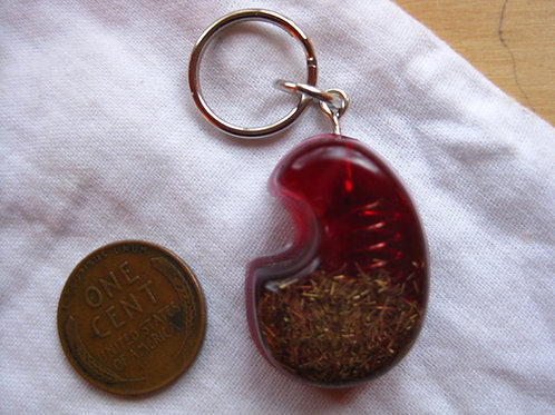 Pet Orgonite Pendant - Red Moon