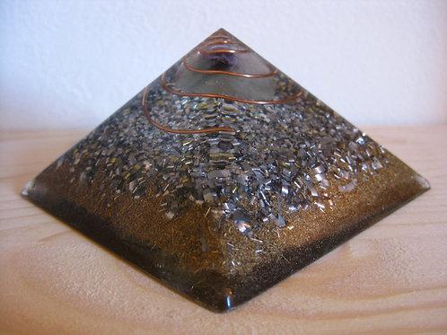 Small Fluorite Orgonite Pyramid