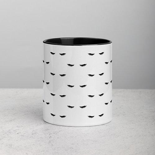 Eyelash Mug with Color Inside