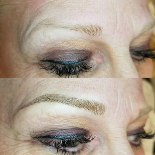 Microblading Vegas Before and After