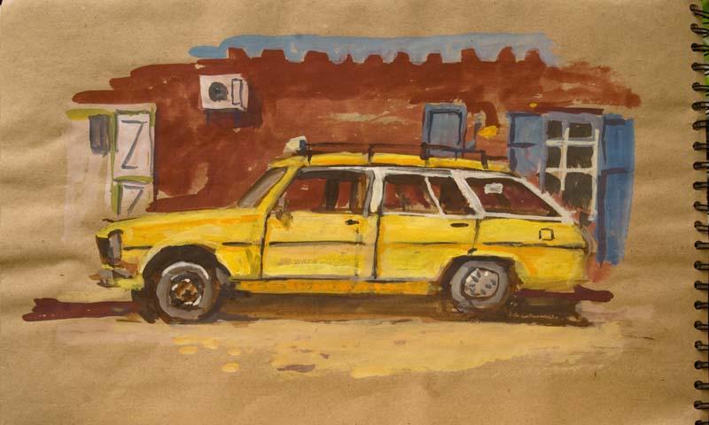 taxi à timimoun