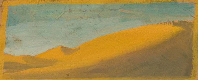 lever de soleil dans les dunes