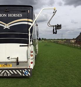 Horsebox Para Rider Hoist, disabled rider, rda, equestrian, horses, assisted mounting, lift, hoist