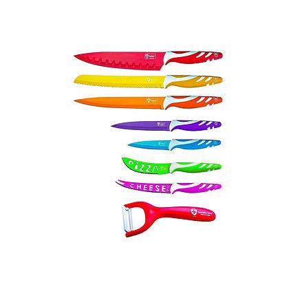 طقم سكاكين متعدد الاسخدامات، 7 قطع