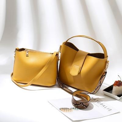 شنتة - حقيبة جيب نسائية بلون جذاب