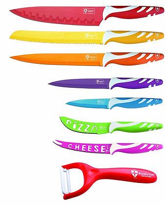 طقم سكاكين متعدد الاسخدامات - 7 قطع