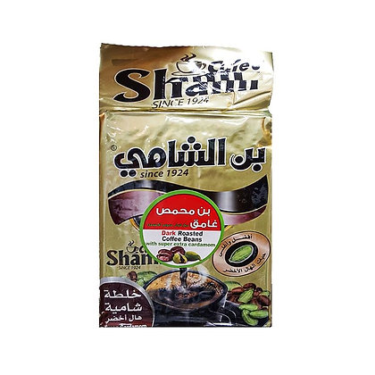 قهوة بن الشامي خلطة شامية هال أخضر 500غ