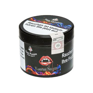 True Passion Tobacco - Vampire Nights 200g - معسل