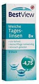 Weiche Tageslinsen 4.75 - عدسات يومية ناعمة