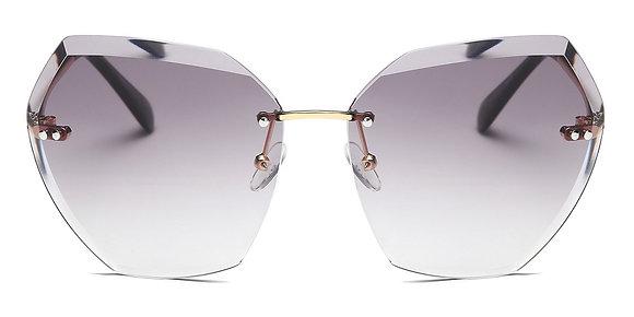 نظارات شمسية للنساء بتصميم عين القطة مع عدسة حماية من الأشعة فوق البنفسجية
