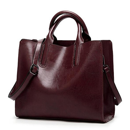 شنتة - حقيبة كتف جلد ناعم