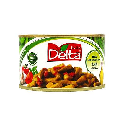 بامية بصلصة الطماطم دلتا - 400 غ