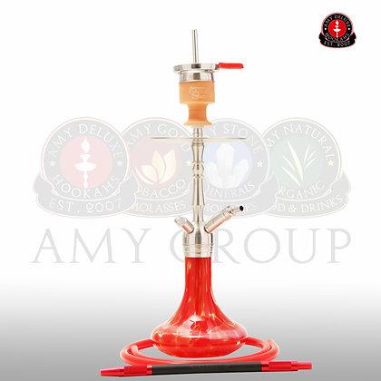 Amy Deluxe SS12 - نارجيلة، أرجيلة لون أحمر