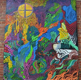 Rivafinoli Catawba Mural
