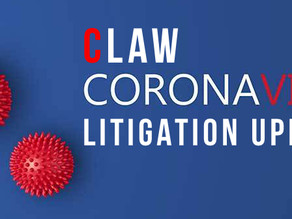 COVID-19 Litigation: What You Need to Know Now (Week of August 3)