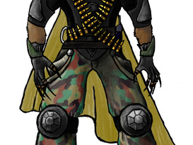 Concept Art for costume