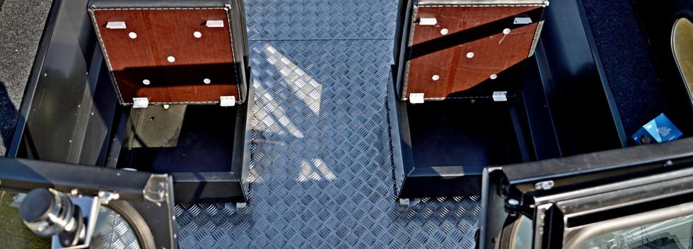 """Салон катера """"Бриз 550"""""""