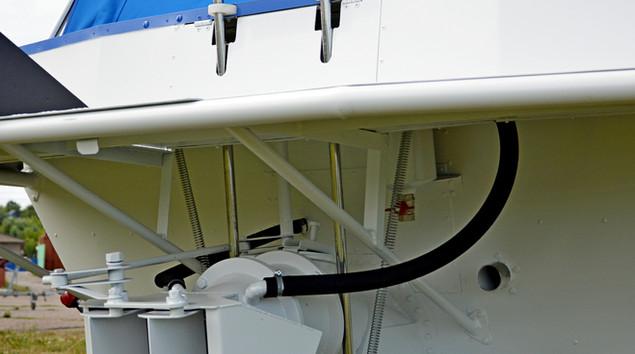 Силовая установка катера Бриз 580