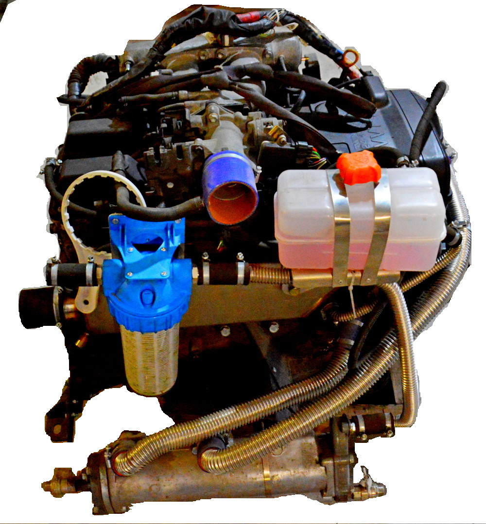 конвертируемый двигатель Toyota 1JZ
