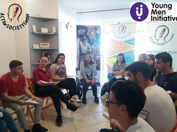 """Klubi """"Bëhu Burrë"""" mblidhet për fushatën #ACT4EQUALITY"""