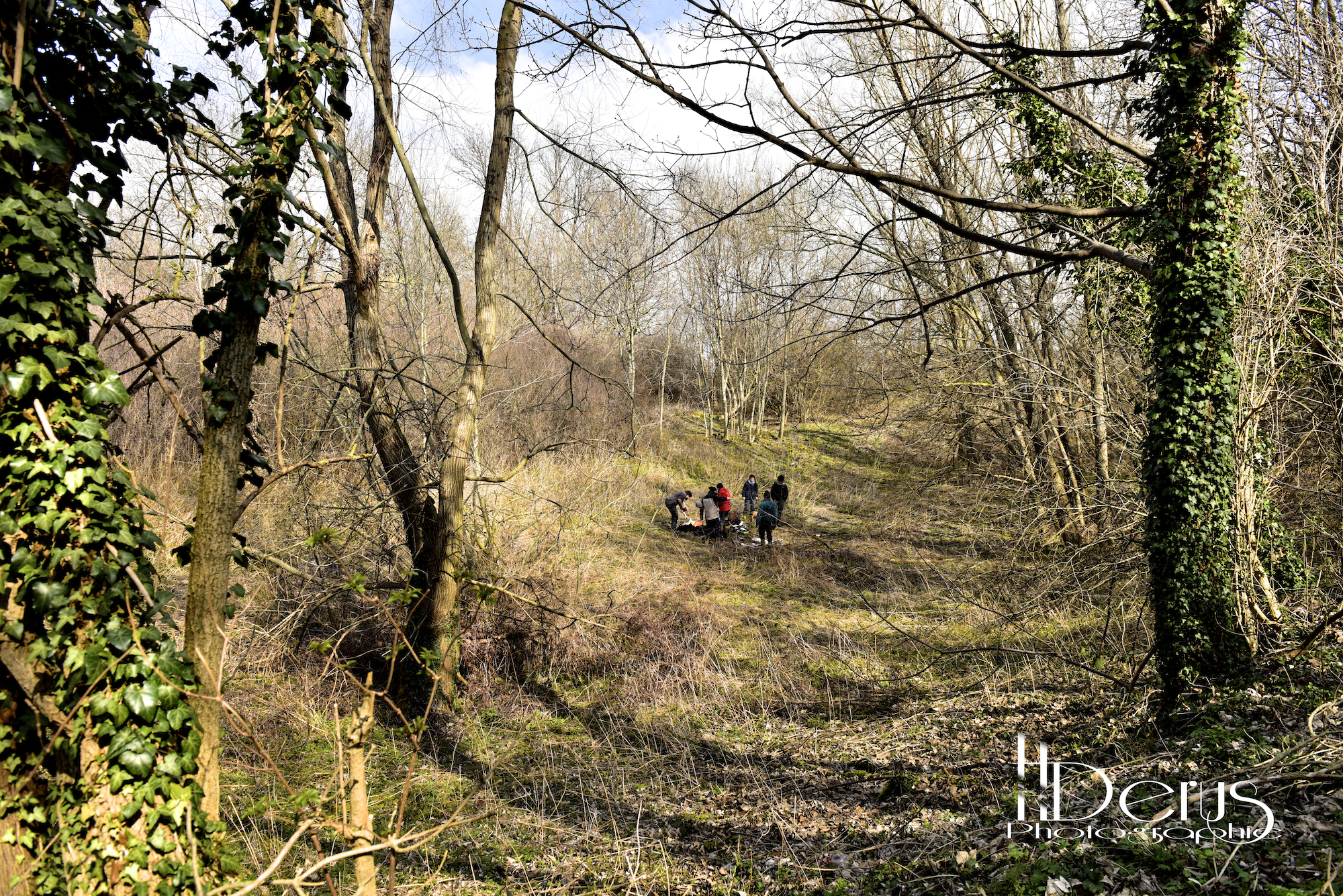 11-03-16 - Carottage du Lac de Gergovie - Henri Derus Photographie 042