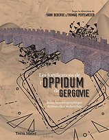 Gergovie. Les fortifications de l'oppidum de Gergovie.png