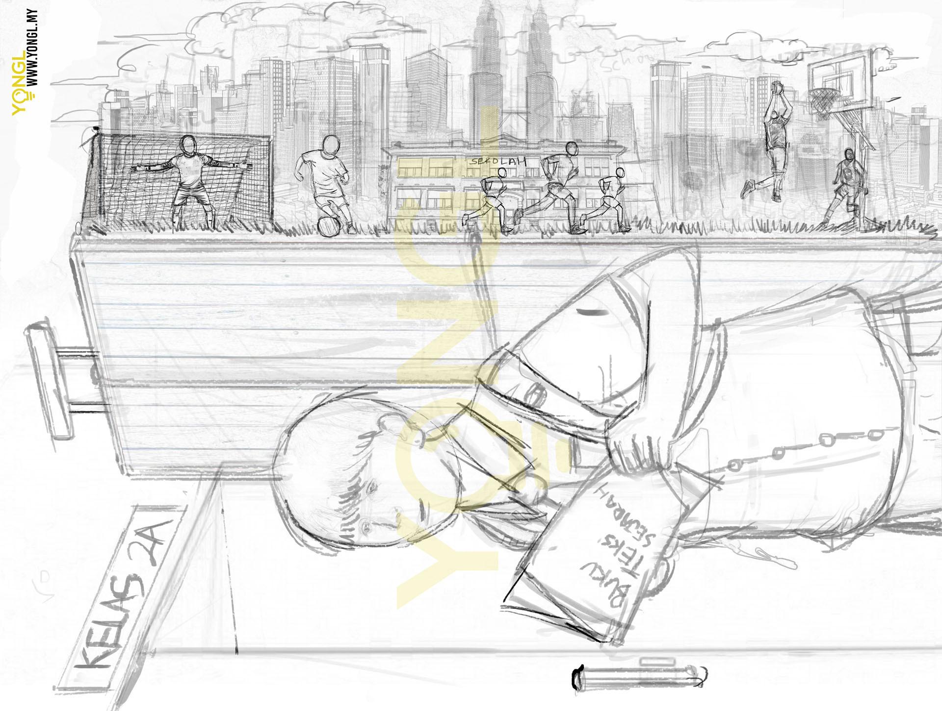 The Unseen Struggle, Nestle Milo - Imaginative & Conceptual