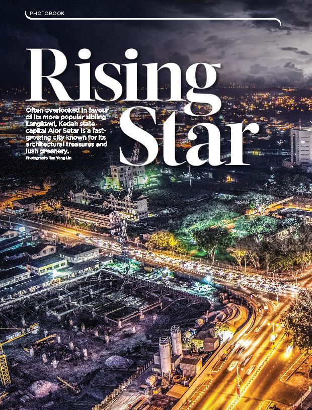 MAS In-flight Magazine - Alor Setar Exterior