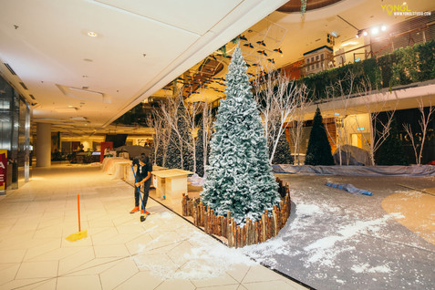 Orient Snow x The Starling Mall - Interior