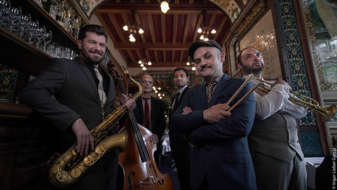 Stomp Stomp swing band nantes jazz lindy hop rennes