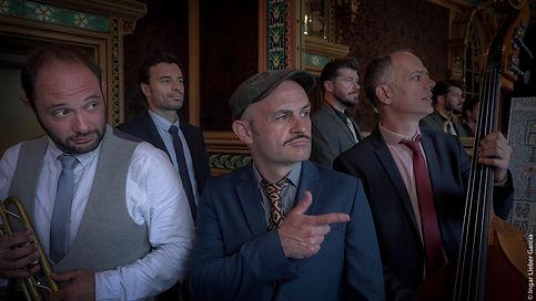 Stomp Stomp swing band nantes jazz lindy hop rennes la cigale restaurant
