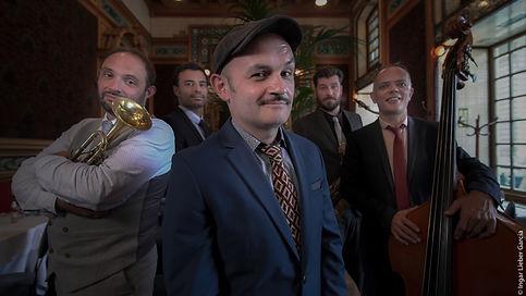 Stomp Stomp swing band nantes jazz lindy hop rennes la cigale