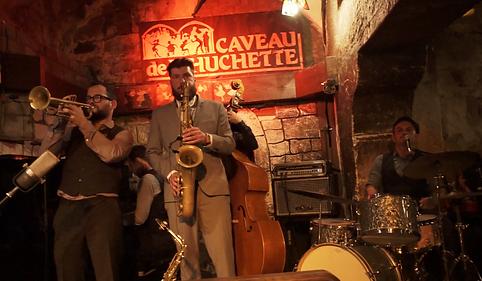 caveau de la huchette stomp stomp swing jazz lindy hop paris