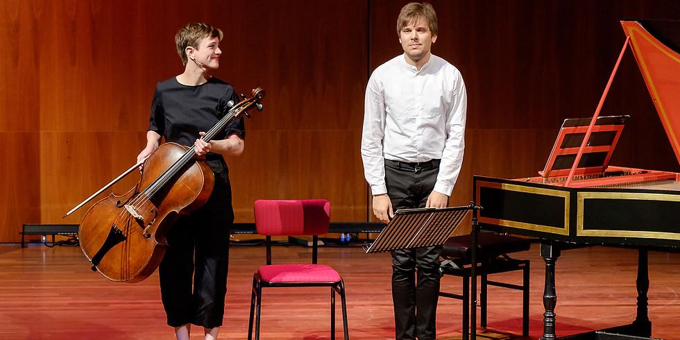 BS - Octavie Dostaler-Lalonde, barokcello;  Artem Belogurov; fortepiano