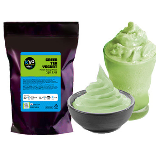 Kstar Green Tea Yogurt Powder