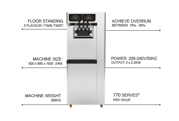 kstar-soft-serve-machine-ks988-specs