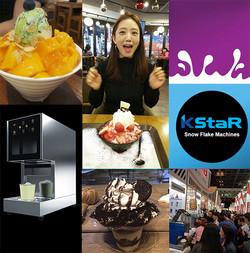ice flake machine for hotel buffet kstar