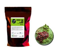 ice flake machine powder-green-tea