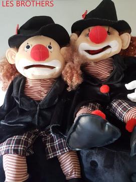 les clowns du ventriloque victor vincci