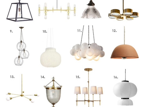 20 Statement Ceiling Lights That Are LIT